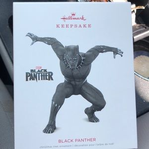 Hallmark Black Panther Keepsake ornament new